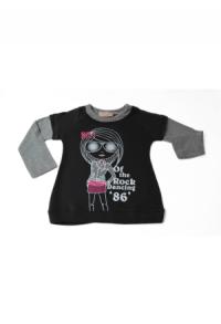 1 Shirt 1 Girl anthrazit