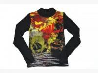 1 Shirt schwarz
