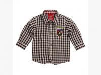 Bondi Trachtenhemd braun Herzbube