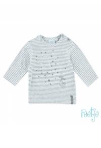 T-shirt l/A streep Little Star
