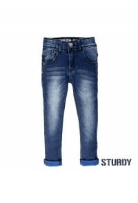 Indigo blue denim slim fit