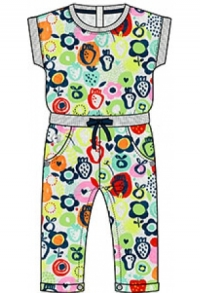 Overall fuer baby maedchen