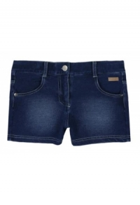 Short fleece denim elastich fuer maedchen
