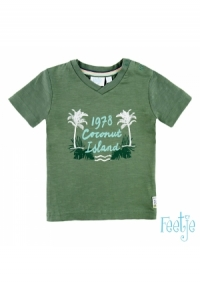 T-shirt k/A Coconut Mini Island