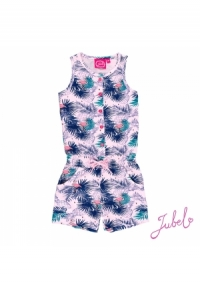 Jumpsuit kurz AOP tropic Exotic