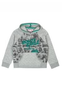 Sweatshirt pluesch mit muetze fuer junge