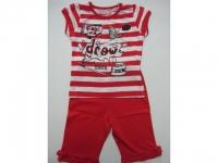 Sommer Pyjama rot